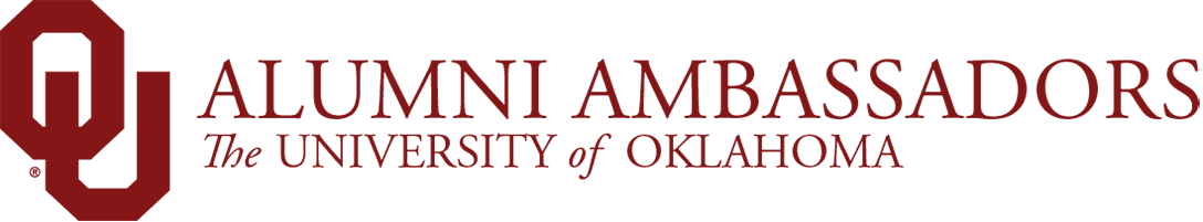Alumni Ambassadors, The University of Oklahoma website wordmark