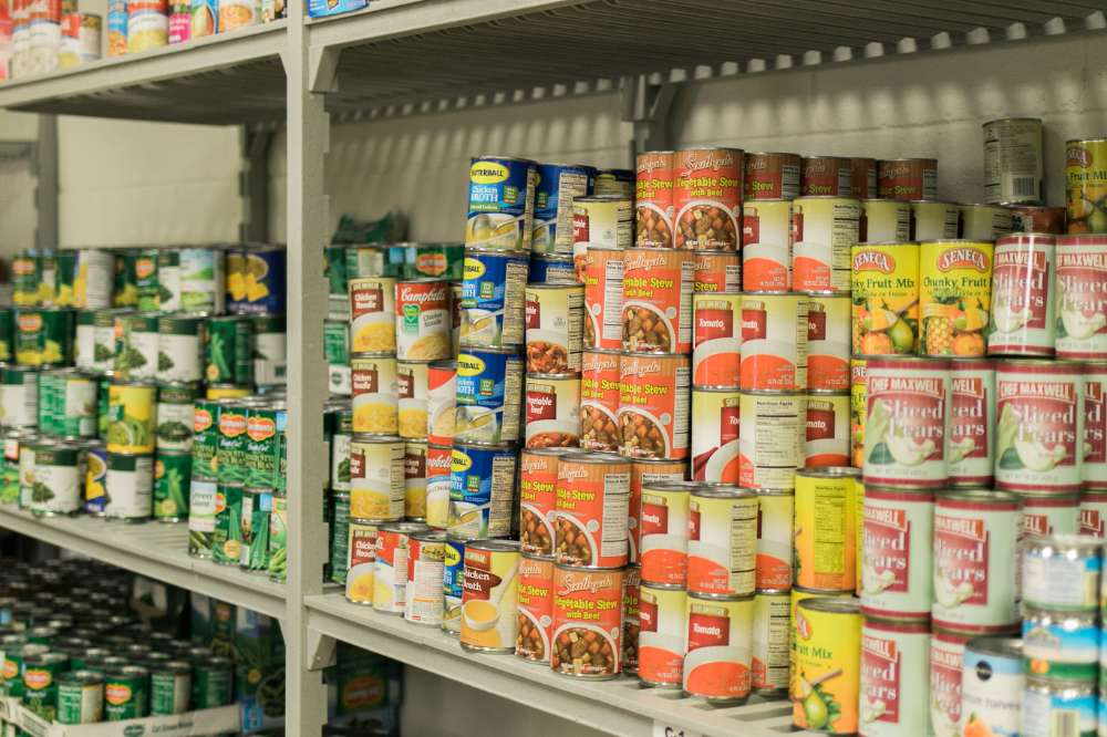 Canned Food at OU Food Pantry