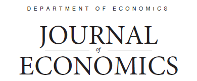 Department Of Economics Student Journal
