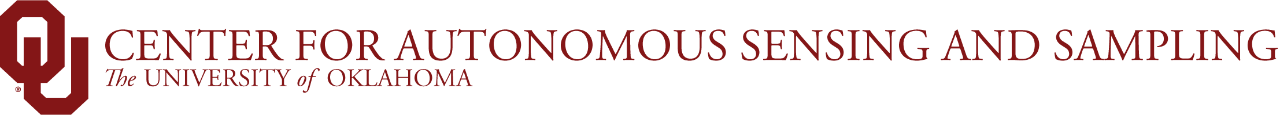 OU Center for Autonomous Sensing and Sampling, The University of Oklahoma website wordmark