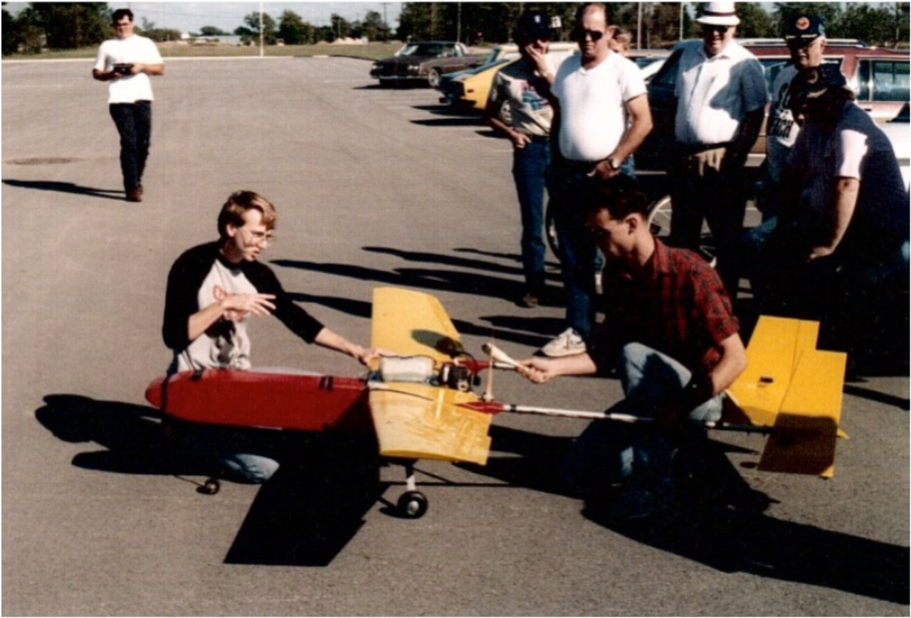 Early development of UAVs for weather research at the University of Oklahoma began in the late 1980s