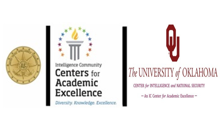 United States Intelligence Community Seal, Intelligence Community Centers for Academic Excellence , The University of Oklahoma OU Center for Intelligence and National Security