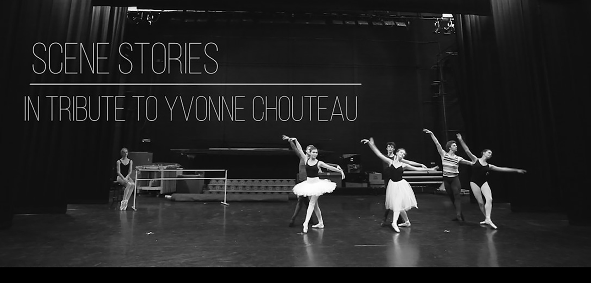 Scene Stories, a tribute to Yvonne Chouteau at OU
