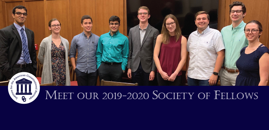Meet out 2019-2020 Society of Fellows