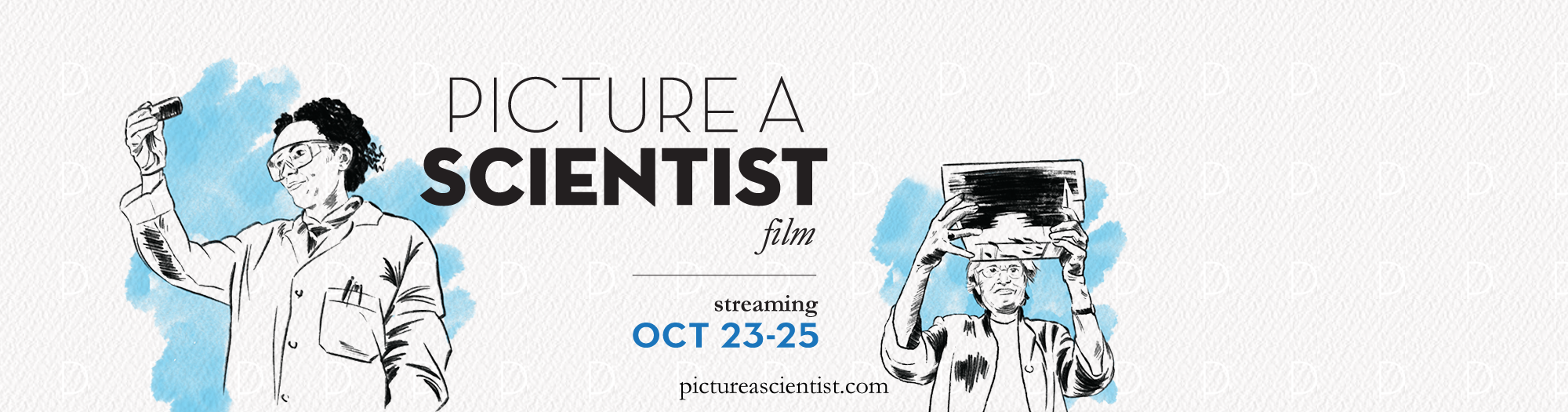 Picture a scientist screening, discussion series