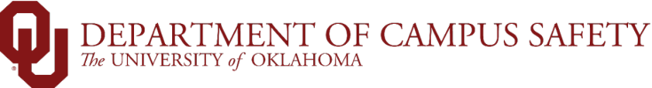 OU Emergency Preparedness, The University of Oklahoma website wordmark