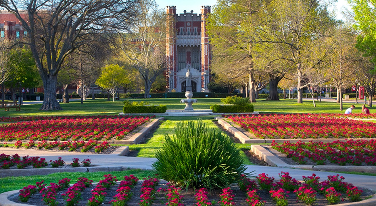 OU campus, south oval