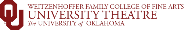 University Theatre website wordmark