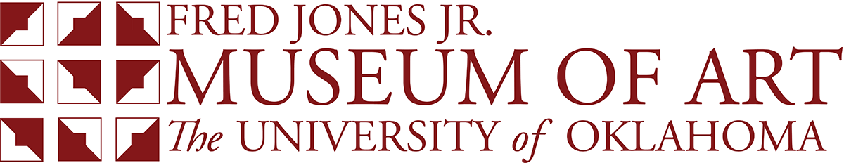 Fred Jones Jr. Museum of Art, The University of Oklahoma website wordmark