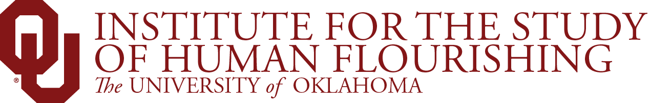 Institute for the Study of Human Flourishing, The University of Oklahoma website wordmark