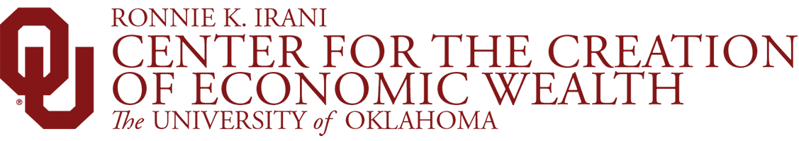 Ronnie K. Irani, Center for the Creation of Economic Wealth, The University of Oklahoma website wordmark