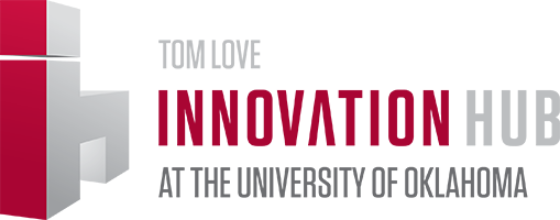 Tom Love Innovation Hub at The University of Oklahoma website wordmark