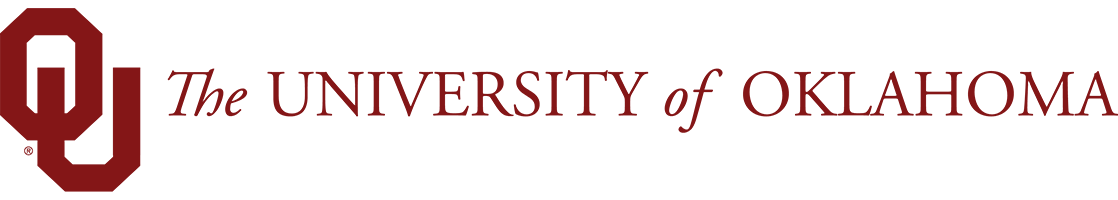 The University of Oklahoma website wordmark