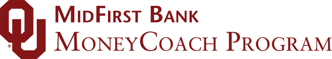 OU MidFirst Bank Money Coach Program website wordmark
