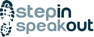 Step In Speak Out Logo