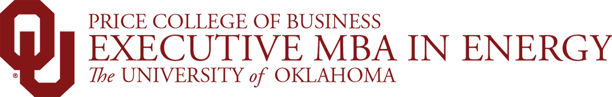 Price College of Business, Executive MBA in Energy, The University of Oklahoma website wordmark