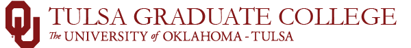 tulsa graduate college website wordmark