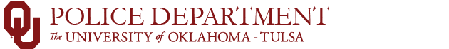 ou-tulsa police department website wordmark