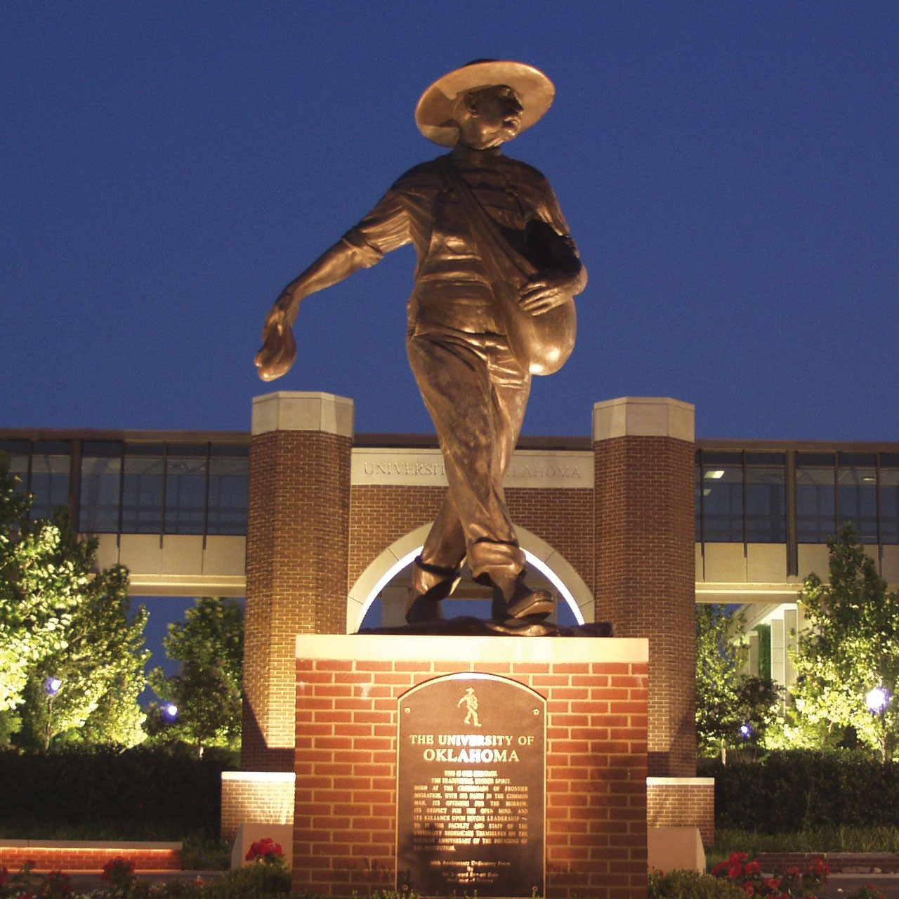 OU Health Sciences Center Sower Statue
