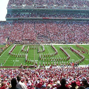 OU Pride marching band
