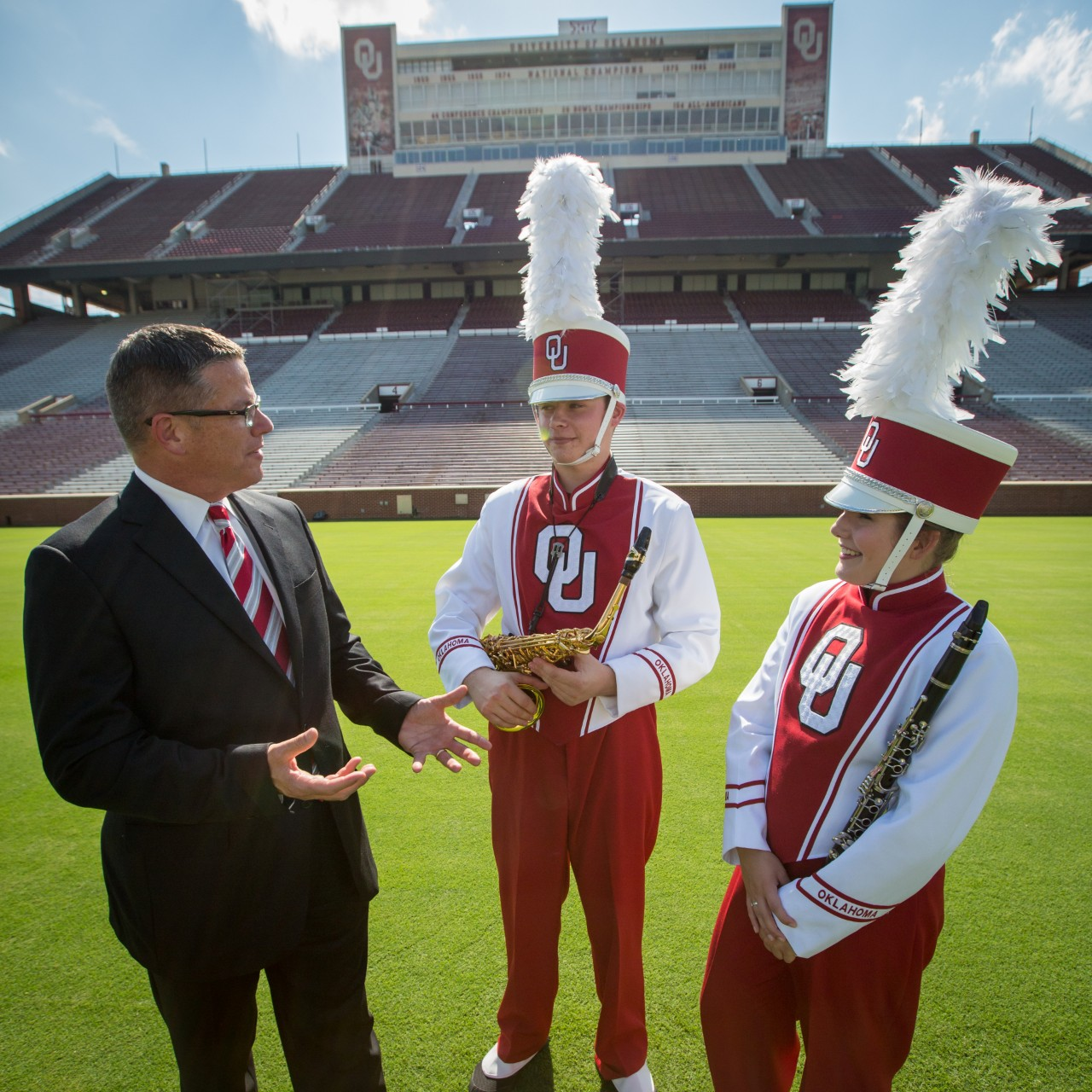 New Pride of Oklahoma uniforms